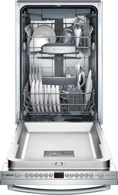 "Bosch SPX68U55UC 18"" Dishwasher With Fully Integrated Panel"