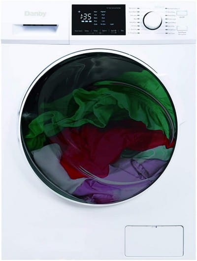 Danby DWM120WDB-3 All in One Washer Clothes Dryer Combo