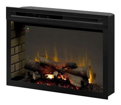 """Dimplex PF3033HL Multi-Fire XD 33"""" Electric Firebox with Faux Logs Bed"""