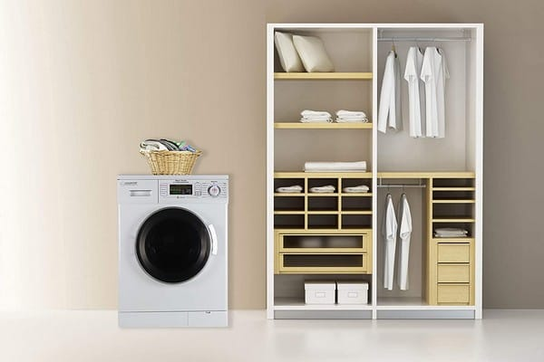 Equator Deco quiet washer and dryer