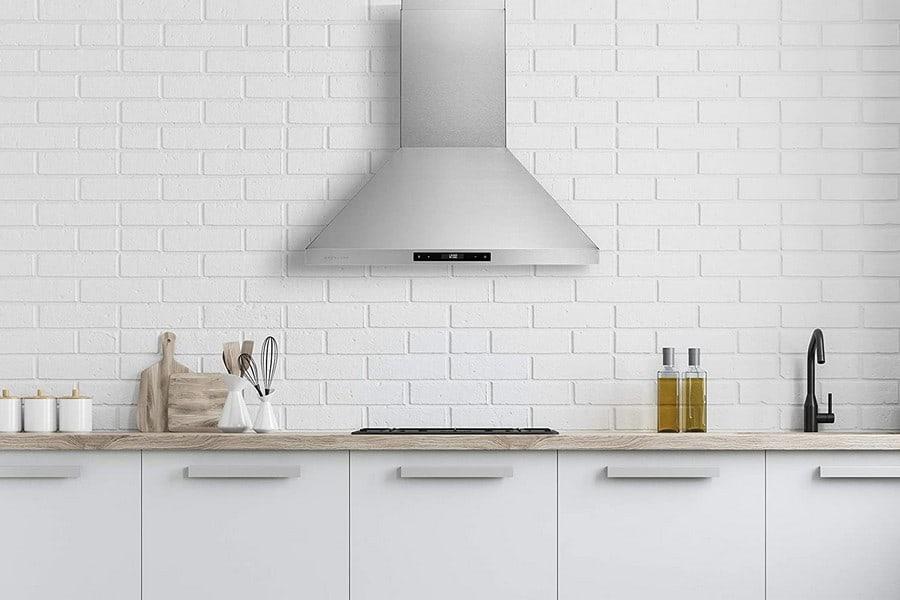 Hauslane Chef series silent wall mount range hood