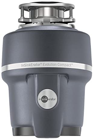 InSinkErator Evolution Compact 0.75 HP Compact Garbage Disposer