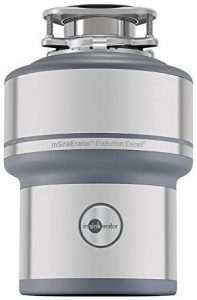 InSinkErator Garbage Disposal Evolution Excel 1 HP Continuous Feed