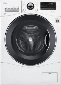 LG WM3488HW 24 inch Washer Dryer Combo