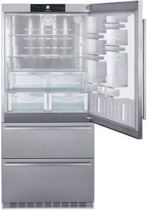 Liebherr CS2080 36 Inch Counter Depth Bottom Freezer Refrigerator