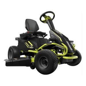 Ryobi 38 in 100 Ah Battery Electric Rear Engine Riding Lawn Mower