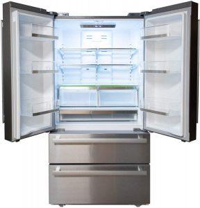 Sharp SJG2351FS 36 Inch French 4-Door Counter Depth Refrigerator