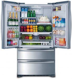 Smad 36 inch French Door Refrigerator 2 Drawer Freezer