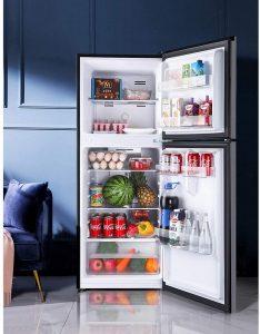 TACKLIFE 7.0 cu ft Top Freezer Refrigerator