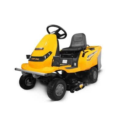 Turf One VOLT 32C Rear Engine Riding Mower with Built-In Collection System