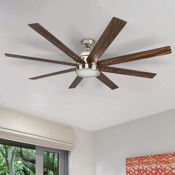 ceiling fan with lights blades