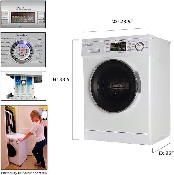 washer dryer portability